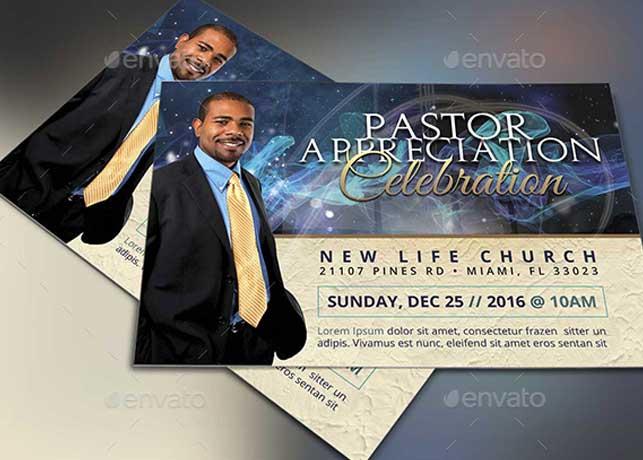 Starlight Pastor Anniversary Flyer Template Vol 3 Inspiks Market - anniversary flyer