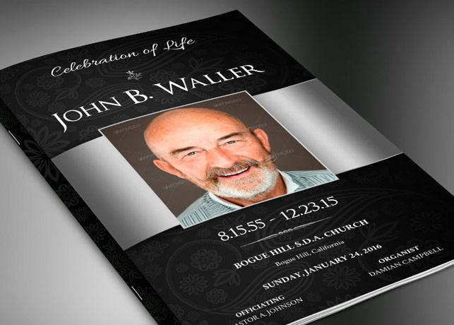 57 Sample Obituary Funeral Program Templates, PSD, Publisher