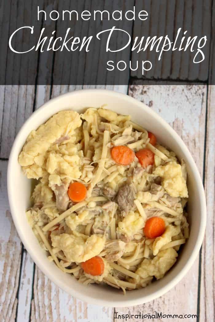 Homemade Chicken Dumpling Soup