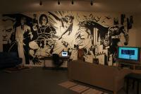 Batman Wall Mural Art on Inspirationde