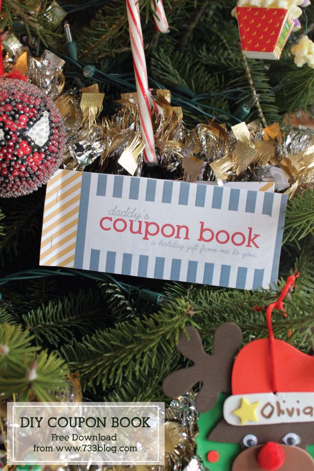DIY Coupon Book Free Printable - Inspiration Made Simple