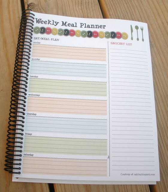 Owl Weekly Meal Planner - Inspiration Made Simple
