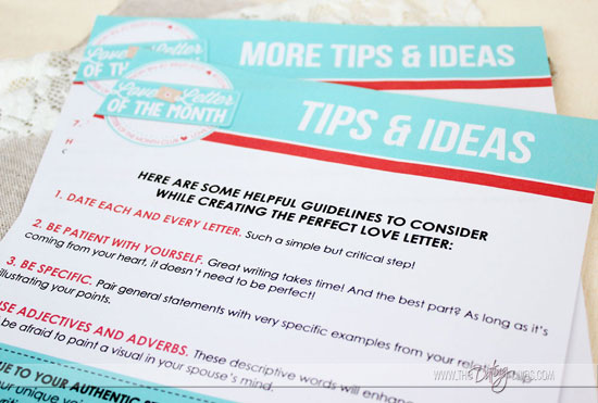Love Letters of the Month Club - Inspiration Made Simple