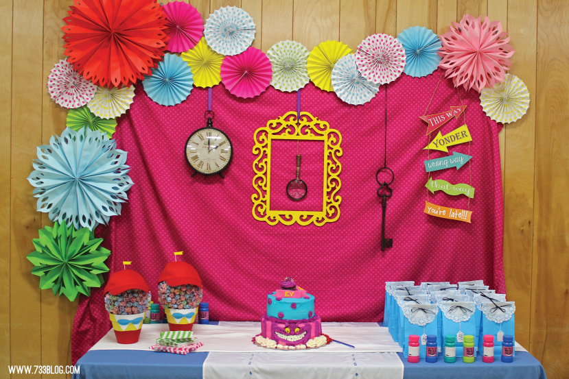 Alice In Wonderland Birthday Party Inspiration Made Simple