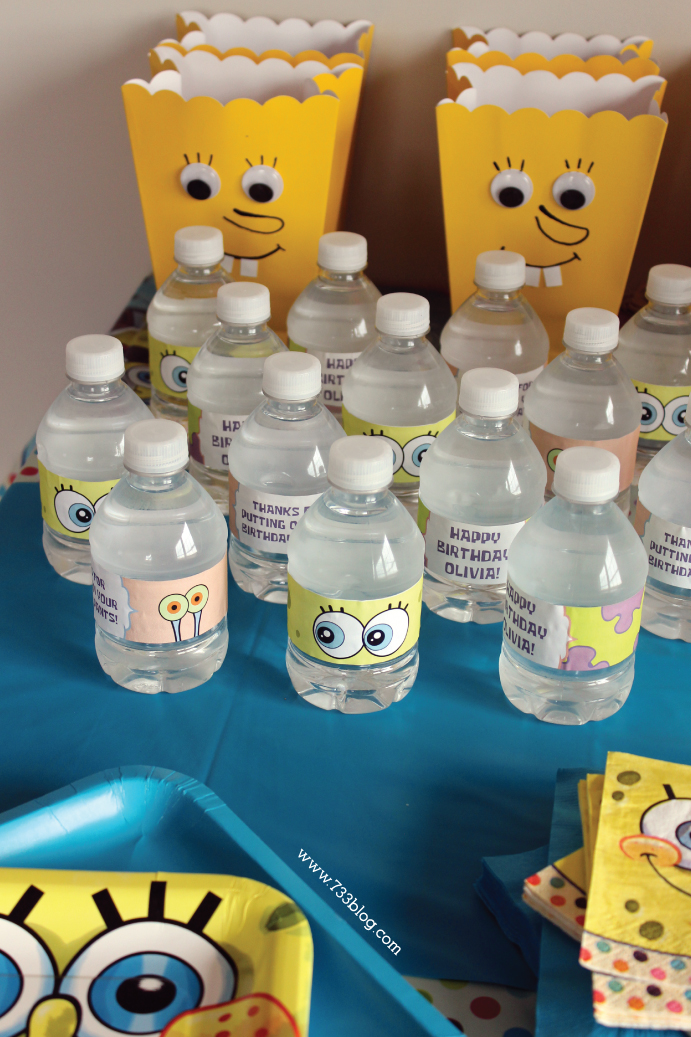 Spongebob Squarepants Birthday Party - Inspiration Made Simple