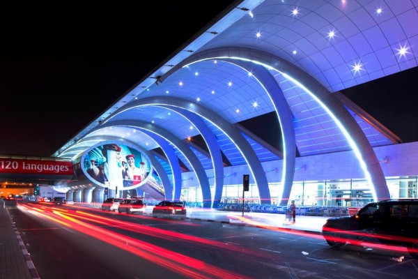 Dubai International Airport, image courtesy of  their Facebook page