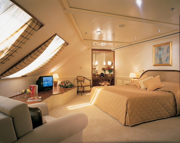 The Royal Suite on the Silver Whisper