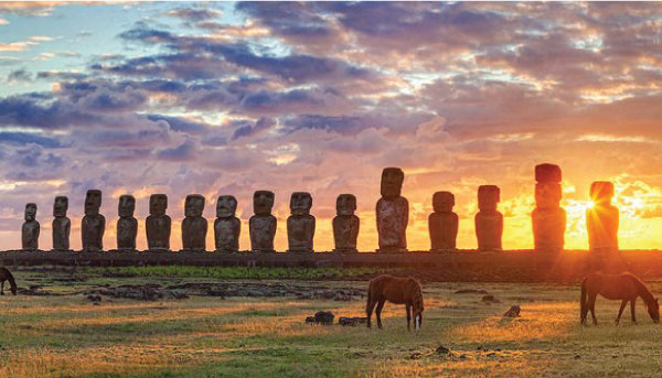 Spiritual Places Easter Island, Chile