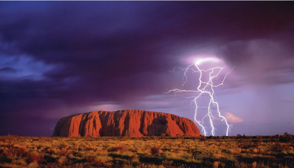 Spiritual Places The Plateau Uluru, Australia