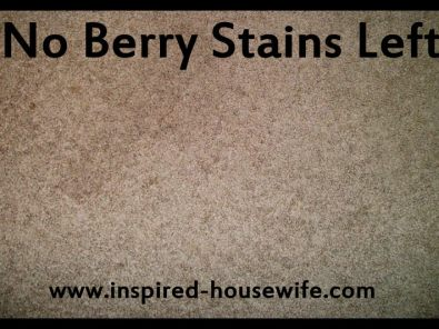 Inspired-Housewife: Easiest Stain Fighter: Red Wine, Ketchup, Berry Stains