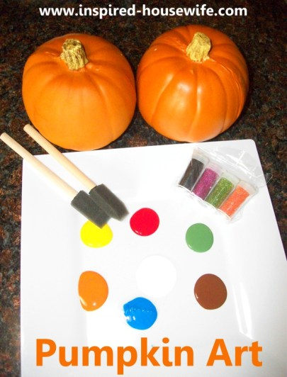 Inspired-Housewife: Personalized Pumpkin Art Fall Kids Decor