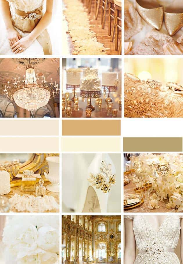 Fall Wallpaper With Blue Wedding Color Palette Gold Inspired Bride
