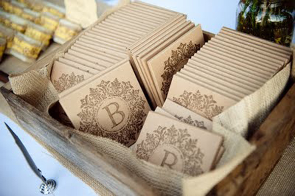Homemade Wedding Favors Inspired By This