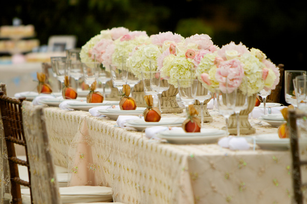 Inspired By This Elegant Garden Themed Dinner Party With