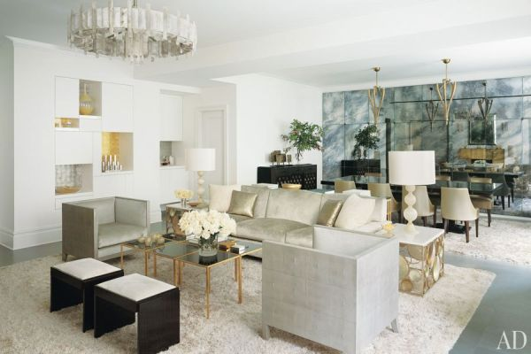 New York Loft - Inspired By This - living room furniture nyc
