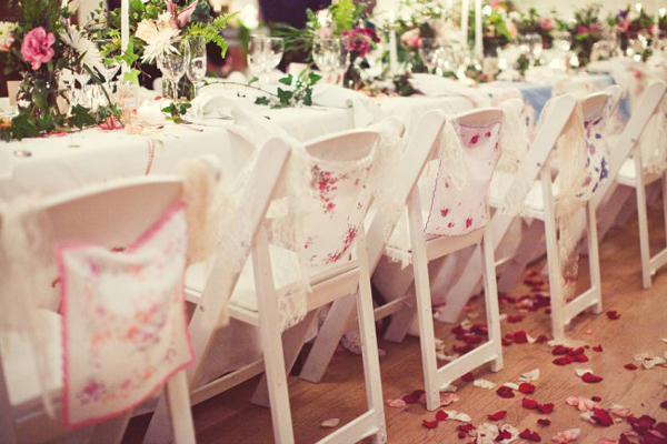 Inspired By These Vintage Wedding Handkerchiefs Inspired