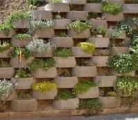 Garden and Backyard Retaining Walls