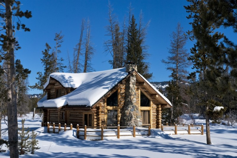 Fall Cottage Wallpaper Log Cabin Designs And Other Holiday Homes In The Snow