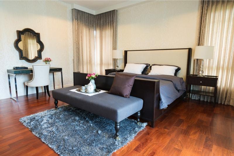 Bedroom Design Ideas With Hardwood Flooring - bedroom floor ideas