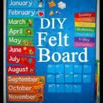 DIY Felt Board Tutorial