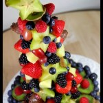 Birthday Cake Edible Fruit Arrangement