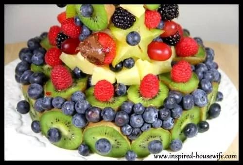 Edible Fruit Arrangement Finished Base