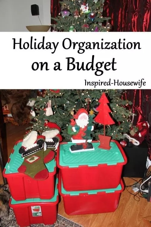 Holiday Organization on a Budget