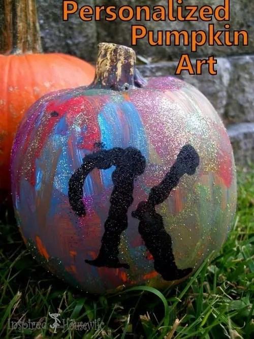 Personalized Pumpkin Art