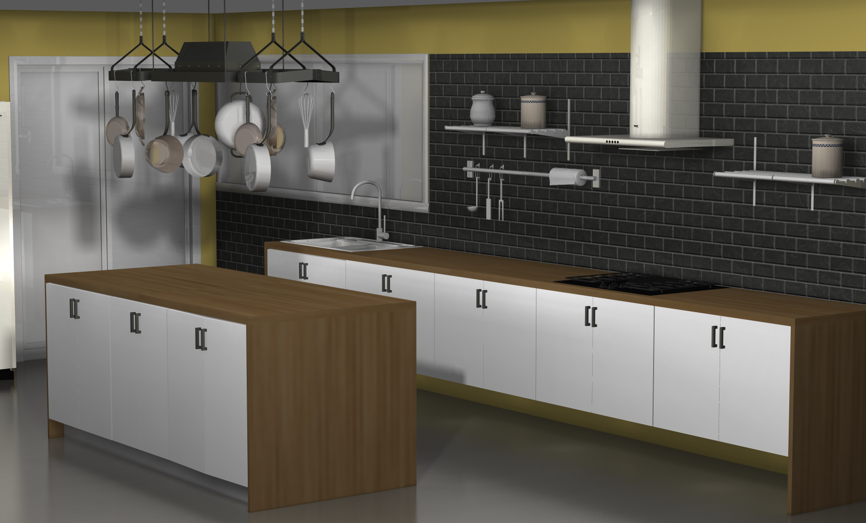 ideas for an ikea kitchen with fewer wall cabinets kitchen wall cabinets One