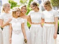 25 Beautiful Bohemian Bridesmaid Dresses Ideas