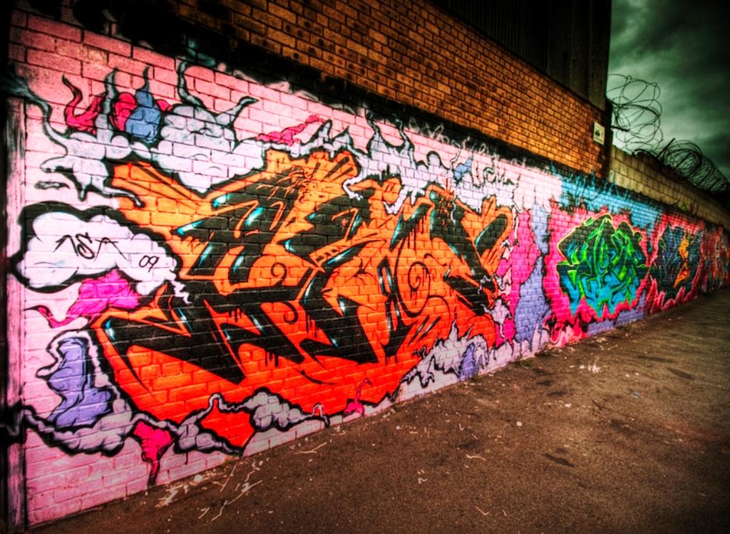 Illusion Wallpaper Iphone 20 Street Graffiti Art Wallpaper From All Around The World