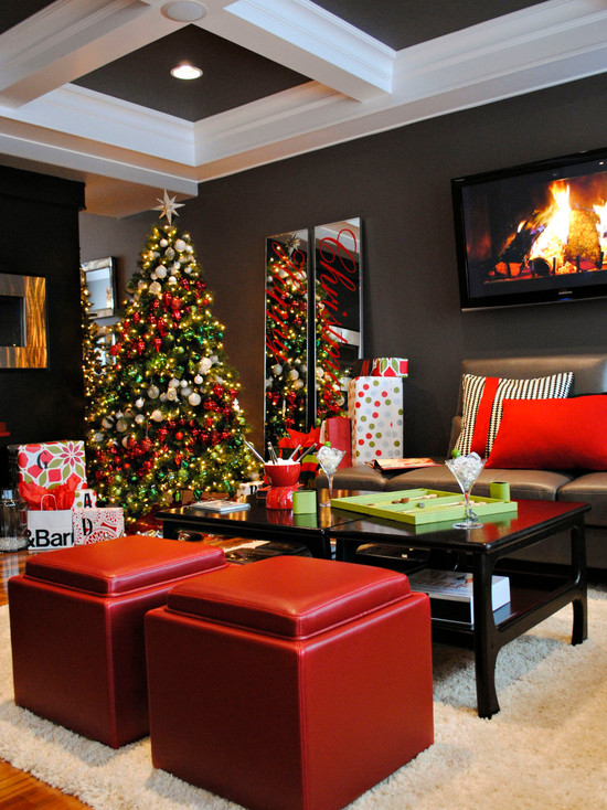 25 Modern Christmas Decoration Ideas - christmas home decor ideas