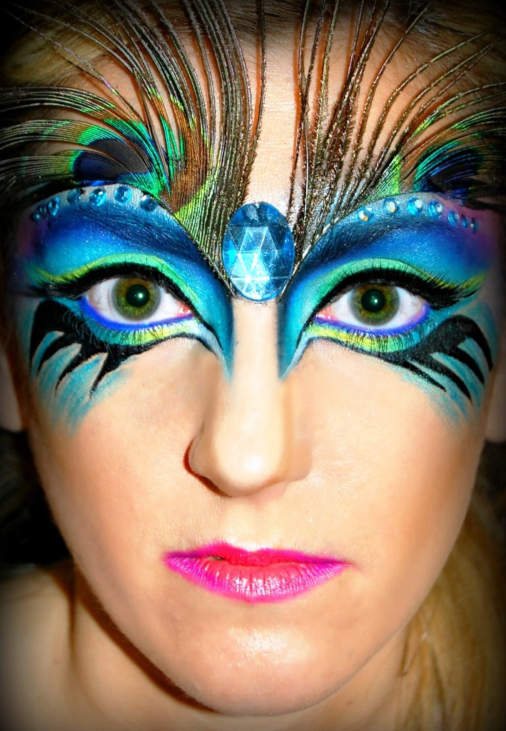 Pretty Wallpapers Rose Quotes 25 Pretty Peacock Halloween Makeup Ideas