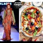 Jean Paul Gaultier vegan wheat crust pizza recipe