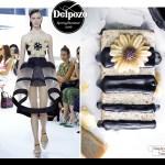 Delpozo fashion-inspired vegan coconut chia fudge which chocolate drizzle recipe