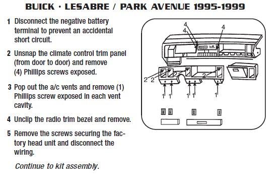2005 Buick Lesabre Radio Wiring Wiring Diagram