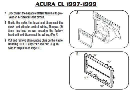 1997 Acura Cl Wiring Diagram Wiring Diagram 2019