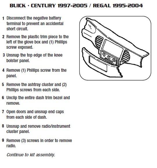 1998 Buick Century Radio Wiring Diagram Wiring Diagram Ebook