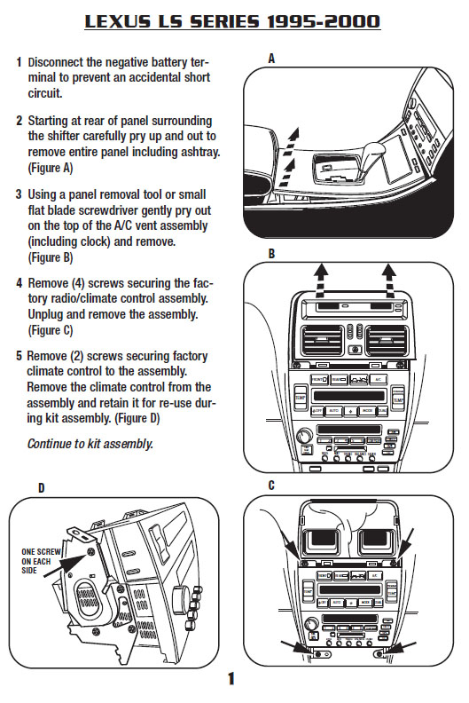 Lexus Ls400 Radio Wiring Diagram - Wiring Diagrams