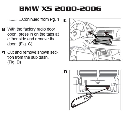2001 Bmw X5 Installation Parts, harness, wires, kits, bluetooth