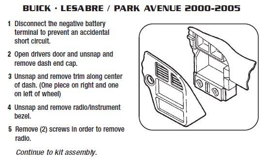 Wiring Diagram For 2000 Buick Lesabre Wiring Diagram