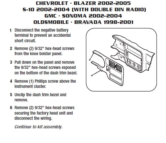 2002 Blazer Radio Wiring Diagram Wiring Diagram