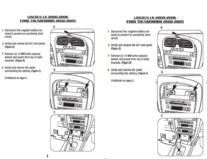 2002 Lincoln Ls Wiring Diagram Wiring Diagram