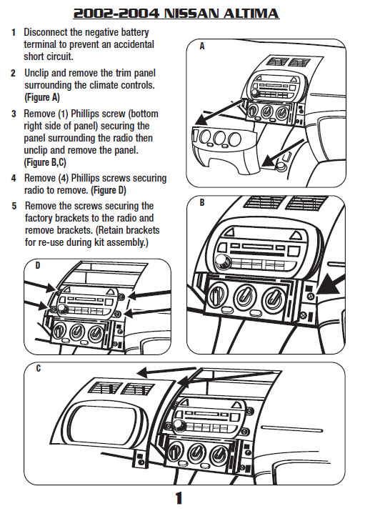 02 Nissan Stereo Wiring Index listing of wiring diagrams