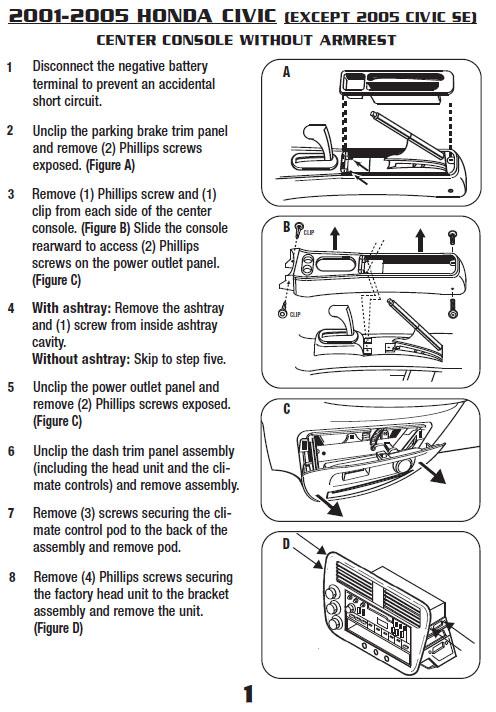 Honda Civic Wiring Harness Wiring Diagram
