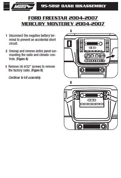 2004 Ford Freestar Wiring Harness Wiring Diagram