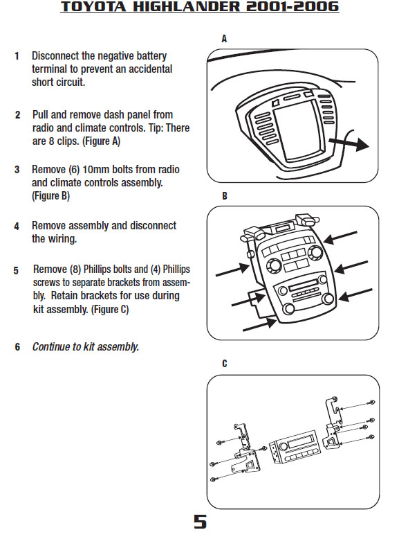 Toyota Highlander Radio Wiring Electronic Schematics collections