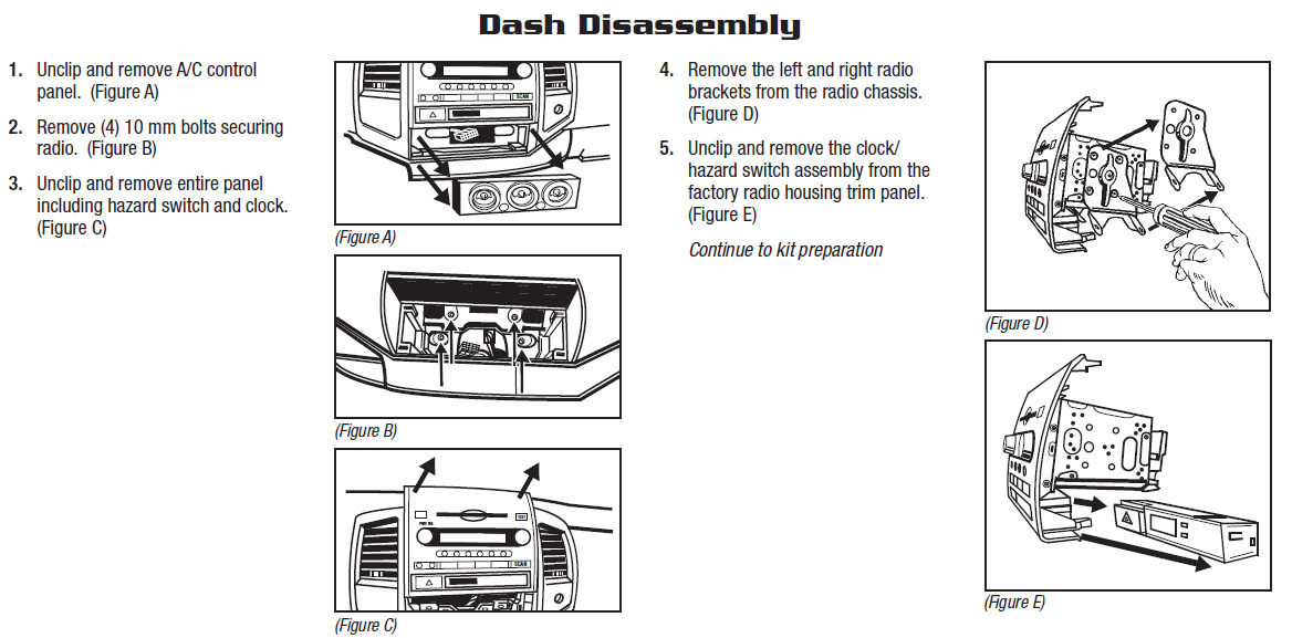 Toyota Tacoma Radio Wiring circuit diagram template