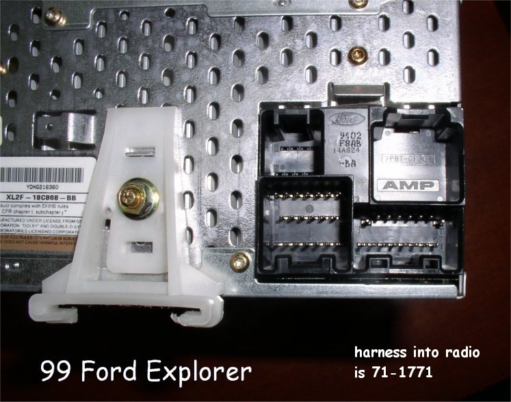 2003 Ford Explorer Xlt Stereo Wiring Diagram - Wiring Solutions