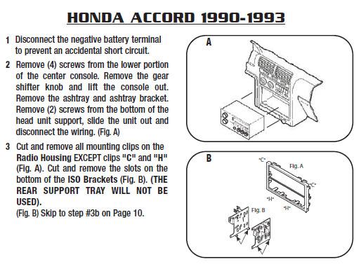 1992 honda civic stereo wiring diagram honda accord stereo wiring